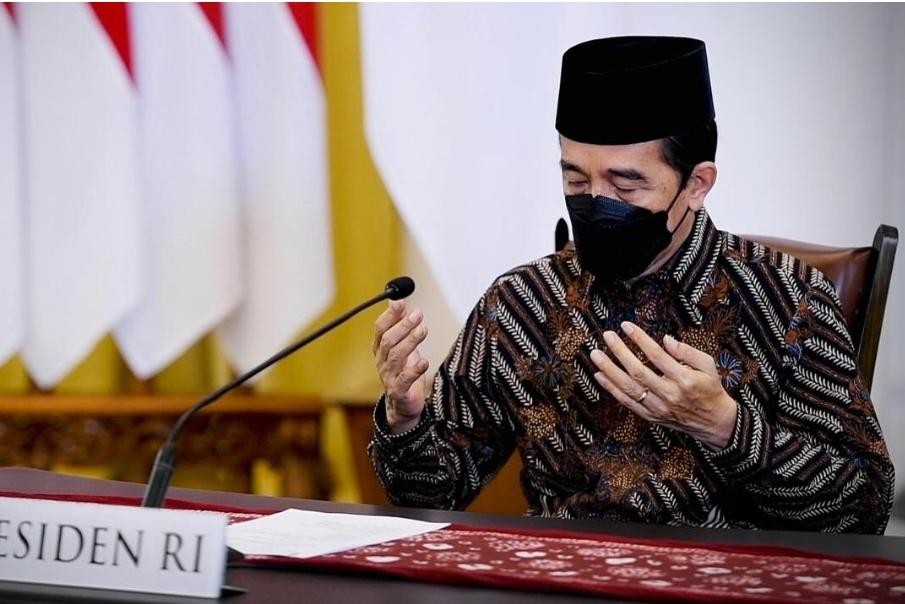 Presiden Jokowi Ajak Seluruh Elemen Bangsa Ikhtiar Melawan Pandemi