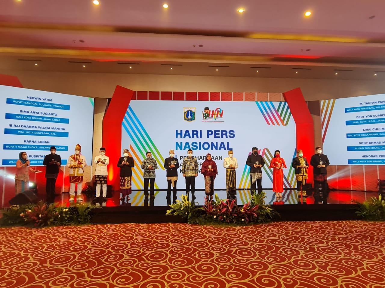 Anugerah Kebudayaan PWI 2022 di Kendari