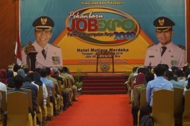 Pekanbaru Job Expo Catat 6.636 Pengunjung
