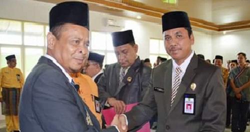 H Sahrudin M.Sy Pimpin Kemenag Rohul