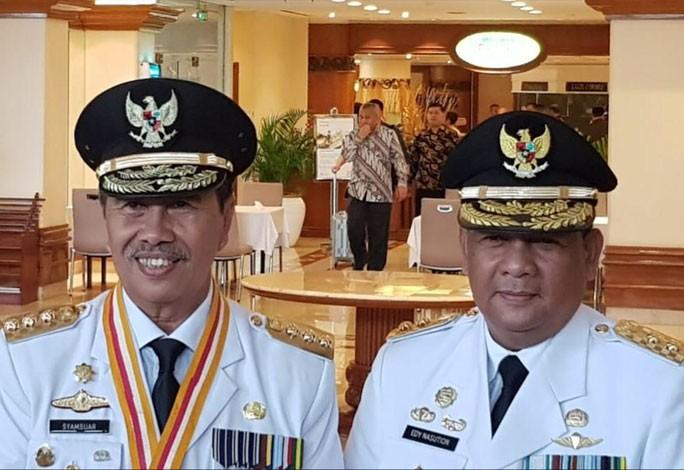 Pagi Ini Presiden Lantik Syamsuar-Edy Natar Jadi Gubernur dan Wakil Gubernur Riau