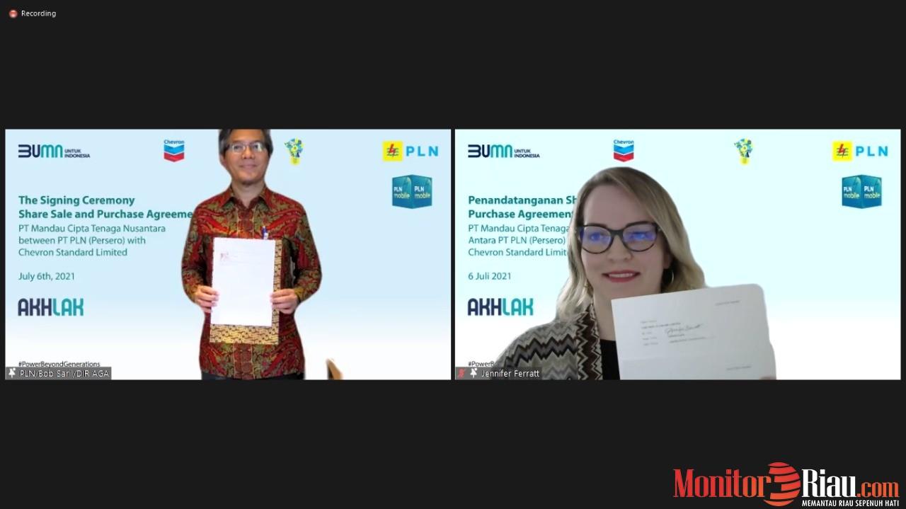 Akuisisi Saham MCTN, PLN Pastikan Kesinambungan dan Keandalan Pasokan Listrik Blok Rokan
