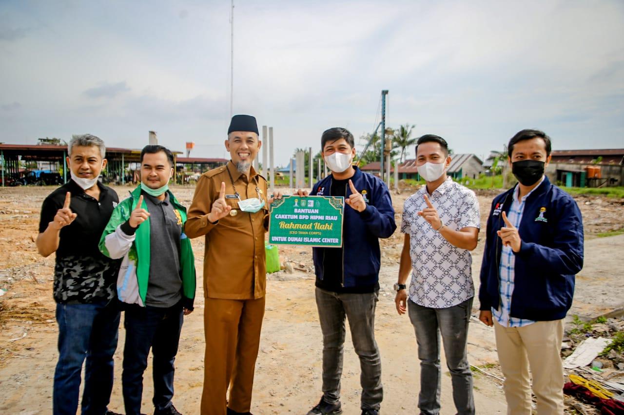 Didukung Wako Dumai, Rahmat Ilahi Siap Maju Sebagai Calon Ketua HIPMI Riau