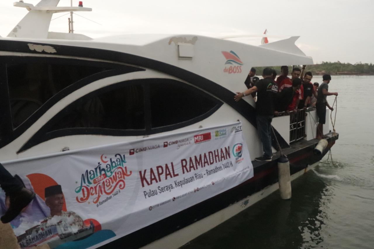 CIMB Niaga Dan CIMB Niaga Syariah Layarkan Kapal Ramadan