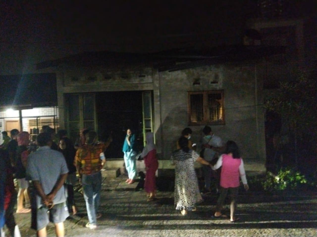 Rumah Warga Gg Salak, Kelurahan Rimba Sekampung Dumai Terbakar