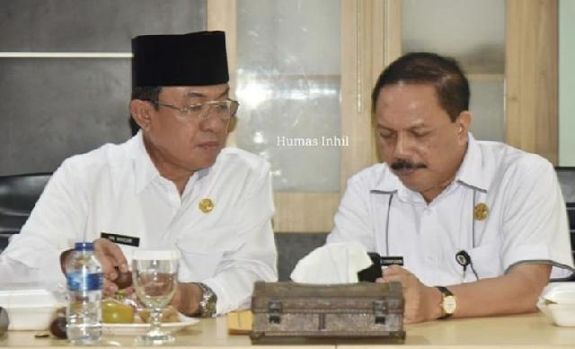 Bupati Pimpin Langsung Rapat Pemantapan Persiapan MTQ ke-49 Kabupaten Inhil