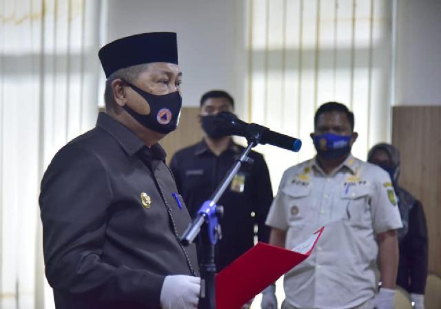 Wabup Inhil Lantik 30 Orang Pejabat Fungsional dan Pengawas