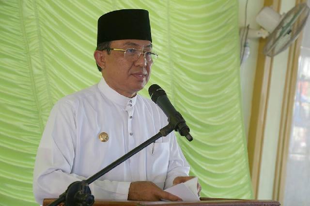Bupati Inhil Turut Meriahkan Haul Syekh Abdurrahman Siddiq Ke-80