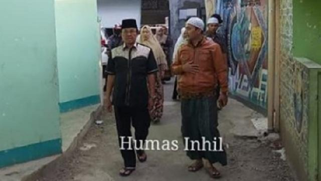 Bupati Inhil Motivasi Peserta Kaligrafi yang Berlatih di LEMKA Sukabumi