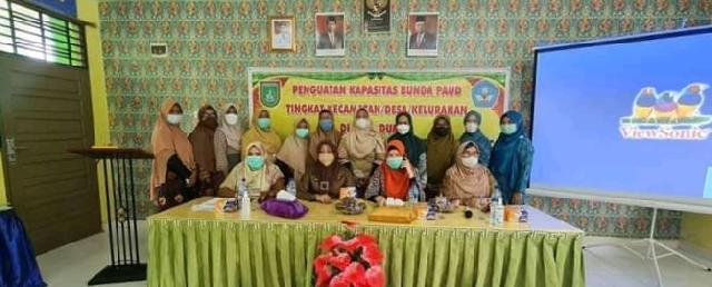 Penguatan Kapasitas Bunda PAUD Kecamatan dan Kelurahan