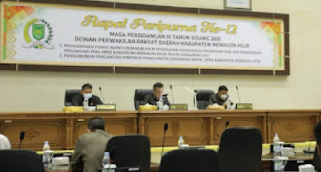 DPRD Inhil Bahas Refocusing pada Rancangan Perubahan APBD TA 2021