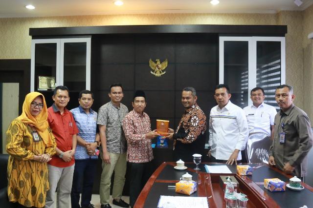 KPU Pekanbaru Silaturahmi Dengan Pimpinan DPRD Pekanbaru