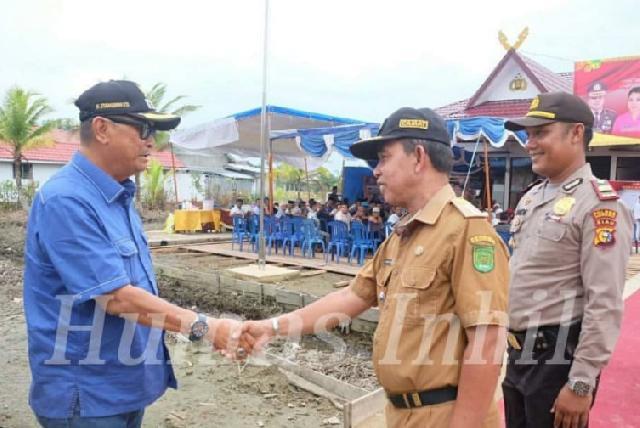 Wabup Inhil Hadiri Peresmian Kantor Polsek Batang Tuaka
