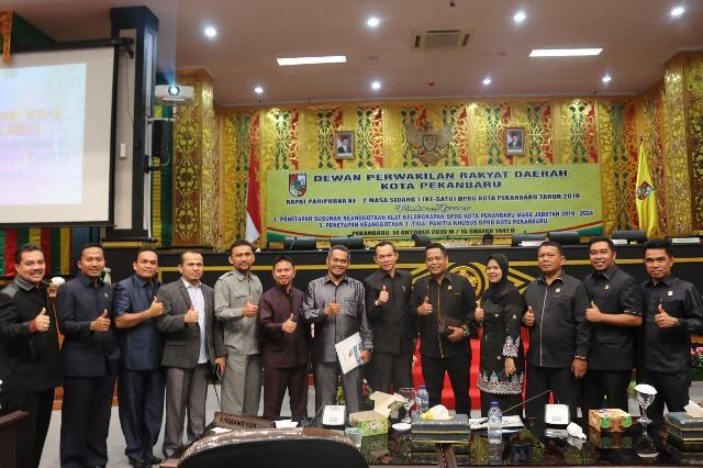 DPRD Pekanbaru Bentuk Tiga Pansus, Ditargetkan Tahun 2019 Ini Selesai
