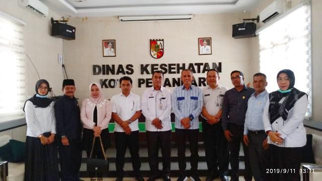 Dewan Kunjungi Diskes Pekanbaru, Koordinasi Terkait Warga Kena Dampak Kabut Asap