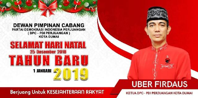 DEWAN PIMPINAN CABANG PARTAI DEMOKRASI INDONESIA PERJUANGAN (DPC - PDI Perjuangan) Kota Dumai