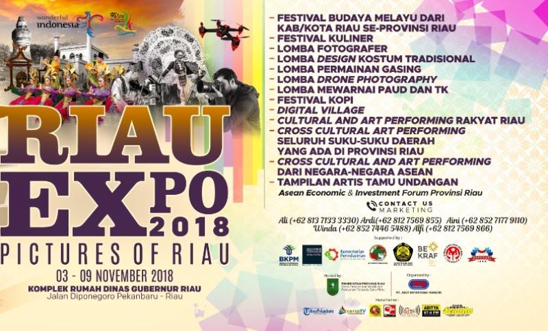 Riau Expo 2018, Pictures of Riau