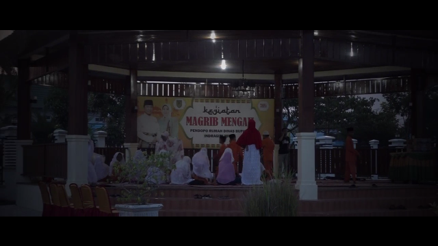 Maghrib Mengaji di Inhil